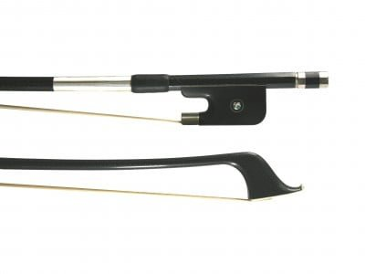 BB018 LG Chen carbon fibre weave double bass bow