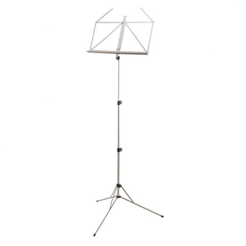 K&M Music Stand Baseline Nickel 10100N
