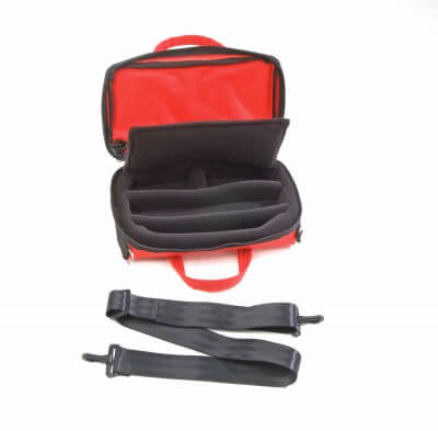 Bass Bags Red Oboe Case Inside