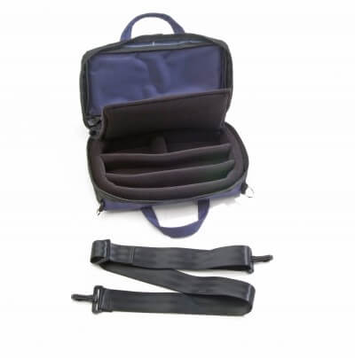 Bass Bags Navy Blue Oboe Case Inside
