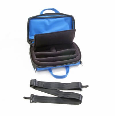 Bass Bags Blue Oboe Case Inside