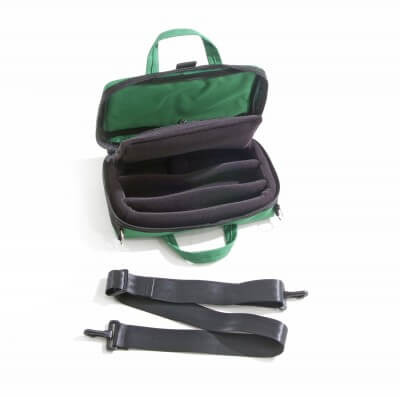 Bass Bags Green Oboe Case Inside