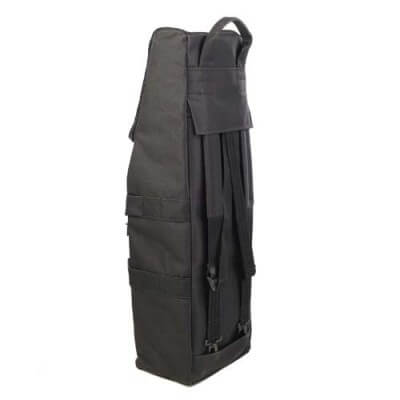 Bass Bags Bass Clarinet Backpack Angled Rear View
