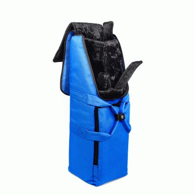 Bass Bags Kim Walker Bassoon blue Inside