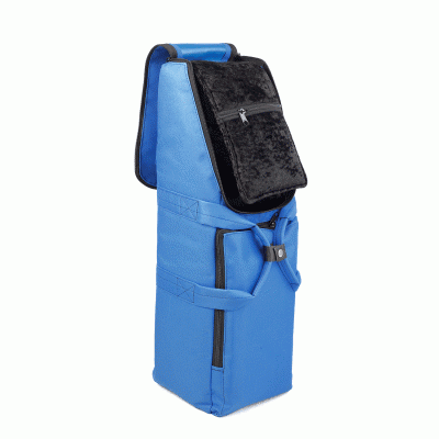 Bass Bags Kim Walker Bassoon blue Open