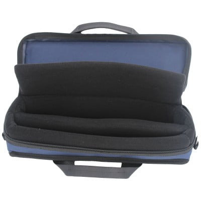 Navy Clarinet Case Inside