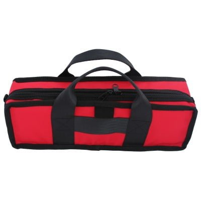 Red Clarinet Case Outside