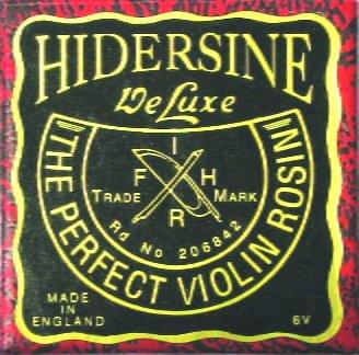 Hidersine 6V Violin Rosin
