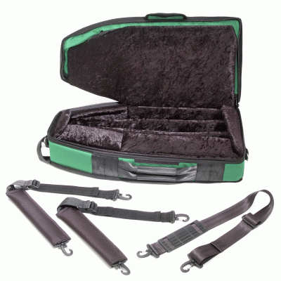 SL Bassoon Case Green Inside