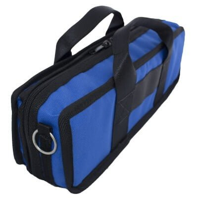 Bass Bags Compact and Lightweight Blue Clarinet Case