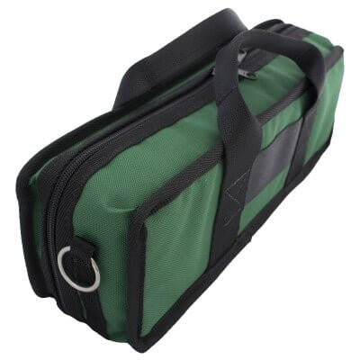 Bass Bags Green Clarinet Case Angled