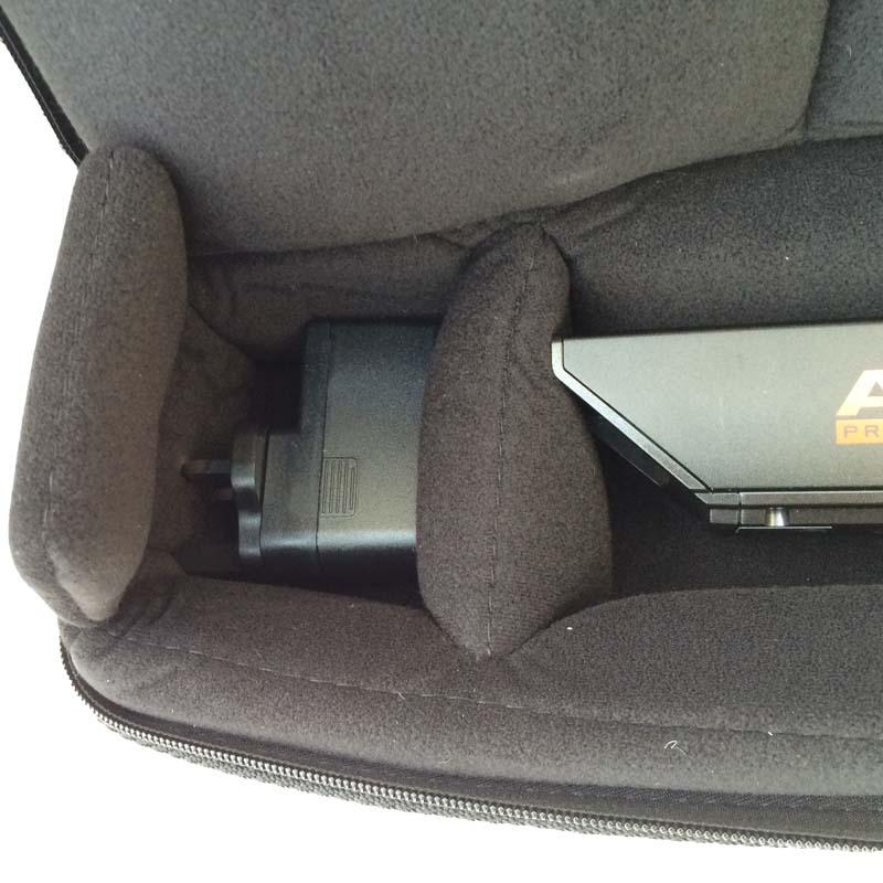 Akai EWI receiver mains adapter in the Akai EWI case