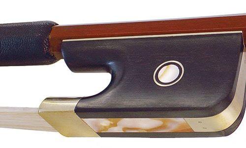 Hidersine Bow Double Bass 1/8 - 3/4 size Brazilwood Octagonal