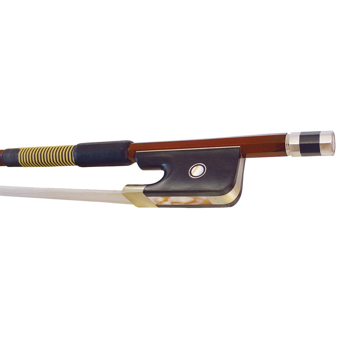 Hidersine Double Bass Bow 1:8 - 3:4 size Brazilwood Octagonal