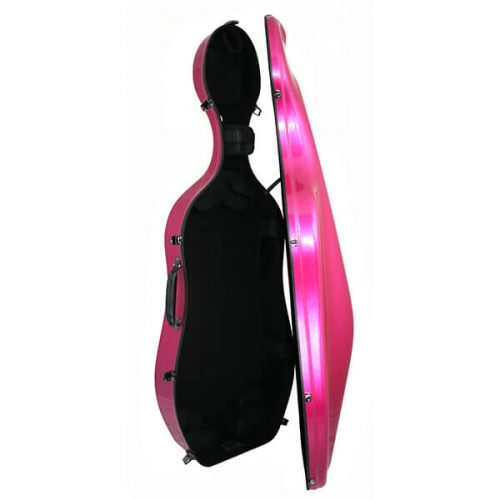 K2 Cello Case Iridescent Open
