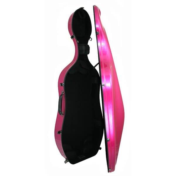 K2 Cello Case Iridescent Open