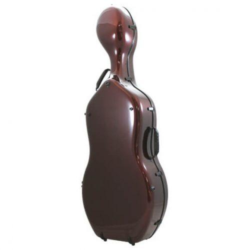 Orchestra Cello Case Midnight Red