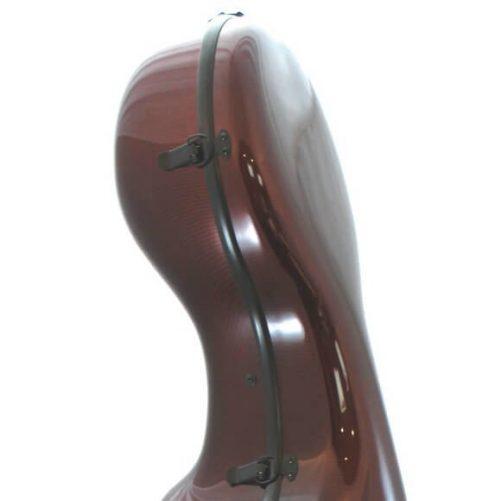 Orchestra Cello Case Midnight Red Case Head