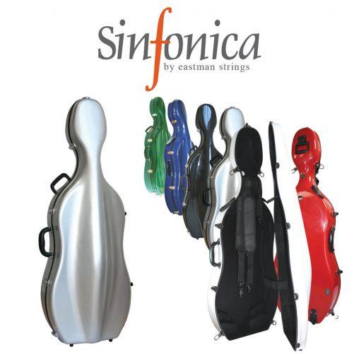 The Sinfonica range of cello cases