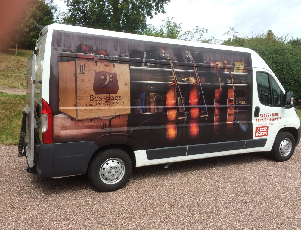 New Van for Cello and Double Bass Deliveries