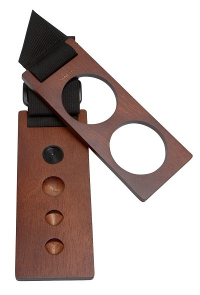 Walnut cello endpin stop