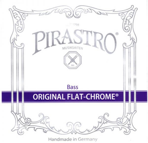 Pirastro Original Flat Chrome Double Bass Strings