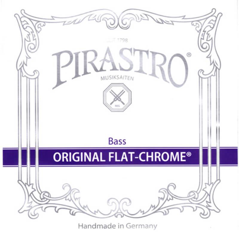 Pirastro Original Flat Chrome Double Bass Strings