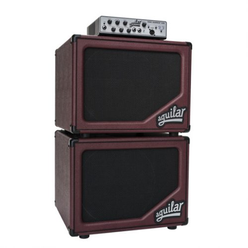 Aguilar Bass Cabernet sl112ltd bass cabinet stack with Tone Hammer