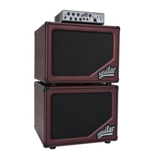 Aguilar Bass Cabernet sl112ltd bass cabinet stack with Tone Hammer