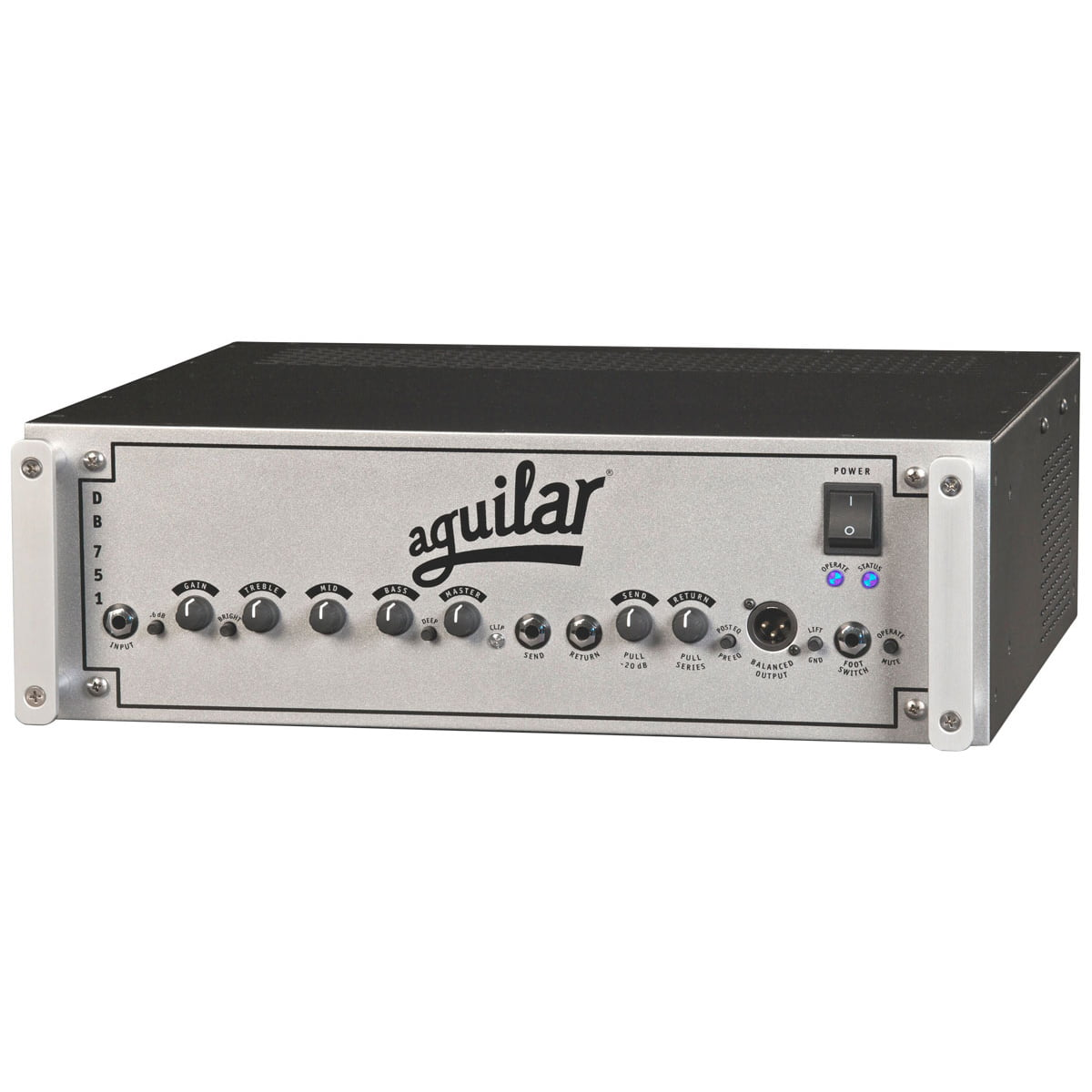 Aguilar DB751 Bass Amp Front Angle