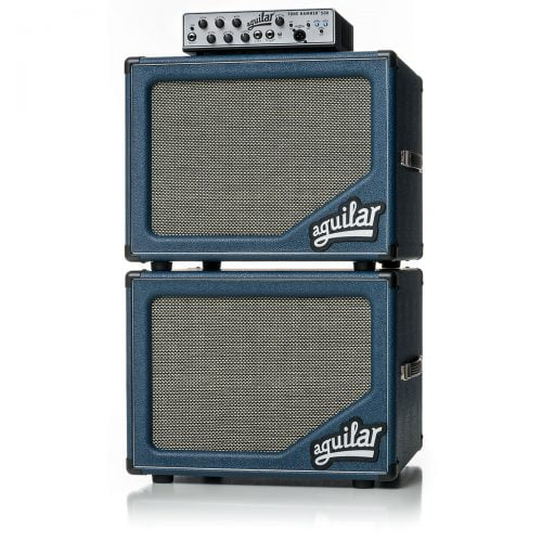 Aguilar sl112 Blue Bossa bass cabinet stack with Tone Hammer bluesl-5