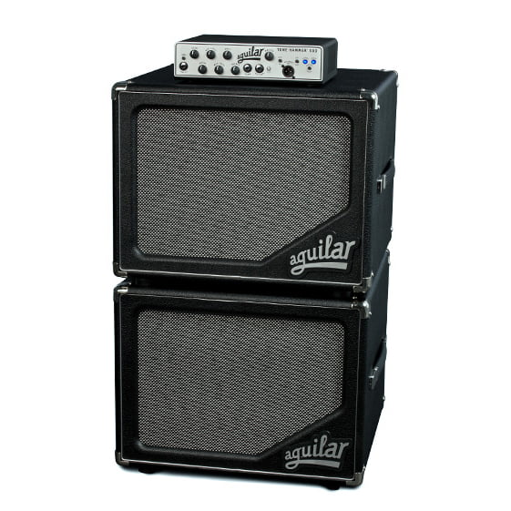 Aguilar sl112 bass cabinet stack with Tone Hammer