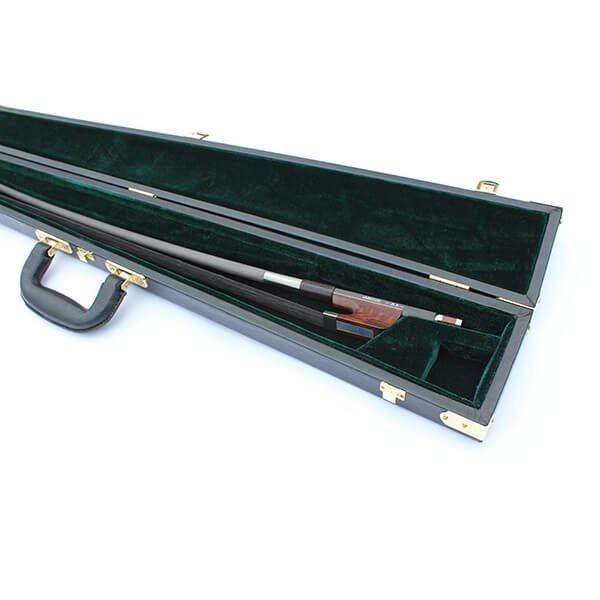 Double Bass Bow Case for Single Bow Black