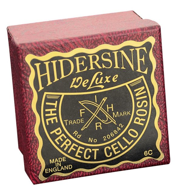 Hidersine deluxe cello rosin box