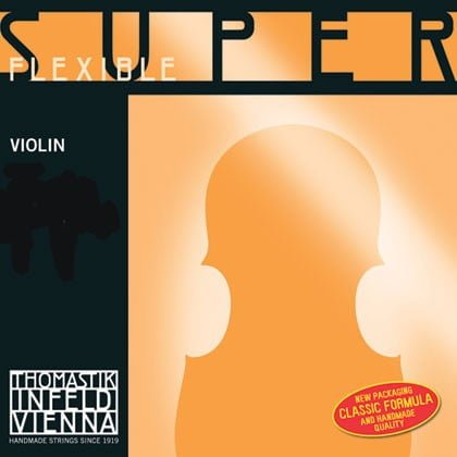 Superflexible Violin Strings