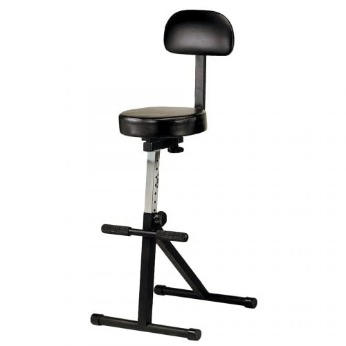 Double Bass Stool With Back Rest