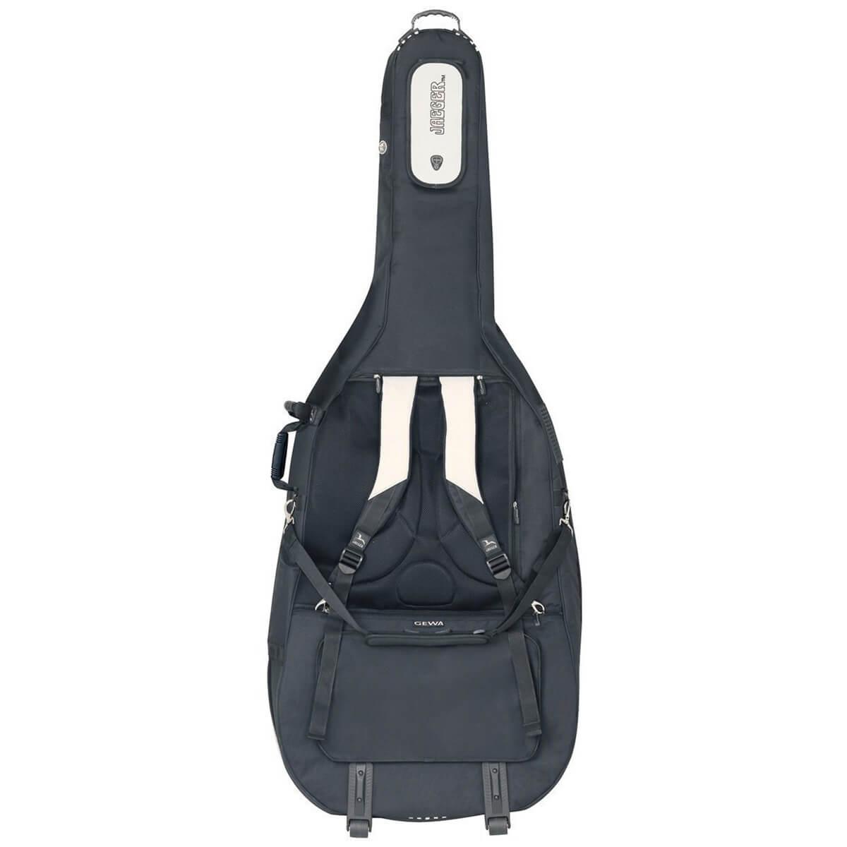 Jaeger Rolly Double Bass Gig Bag Rear