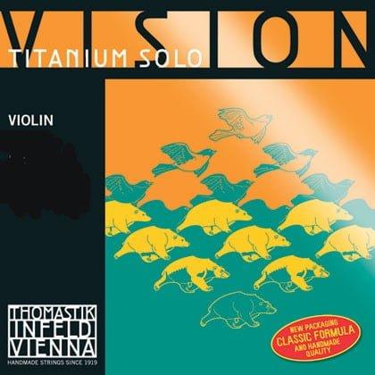 Vision Titanium Solo Violin Strings