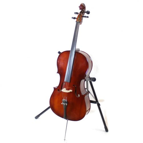 unlabeled 3/4 size cello