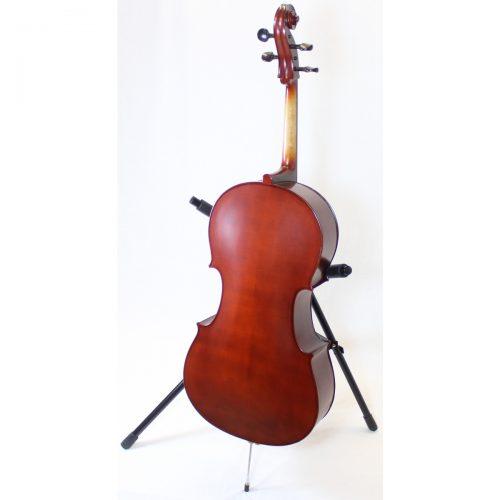 4/4 Size Used Primavera 100 Cello Back View