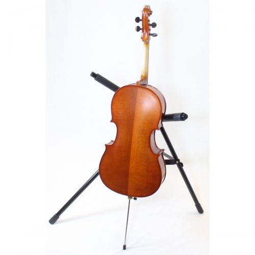 Used and Needing Repair Primavera 100 1/8 Size Cello Back View