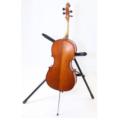 Used and Needing Repair Primavera 100 1/8 Size Cello Back View