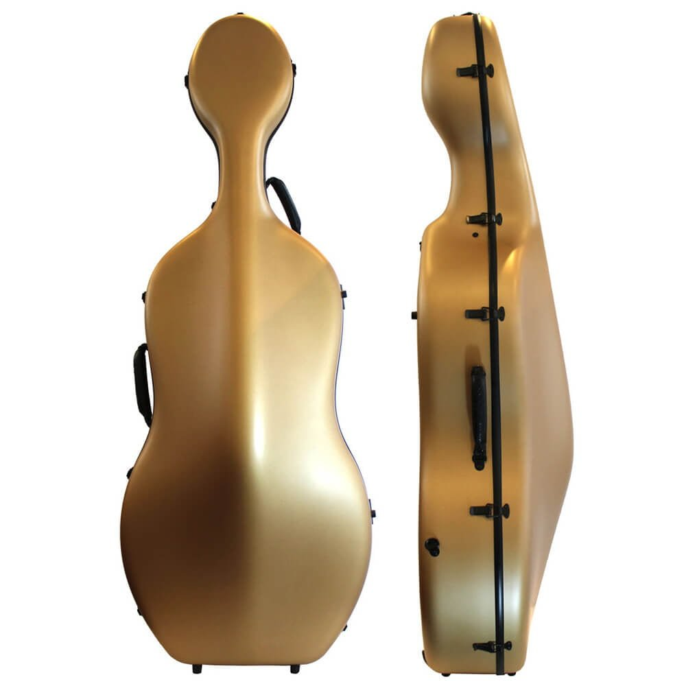Orchestra Cello Case Matt Gold Front