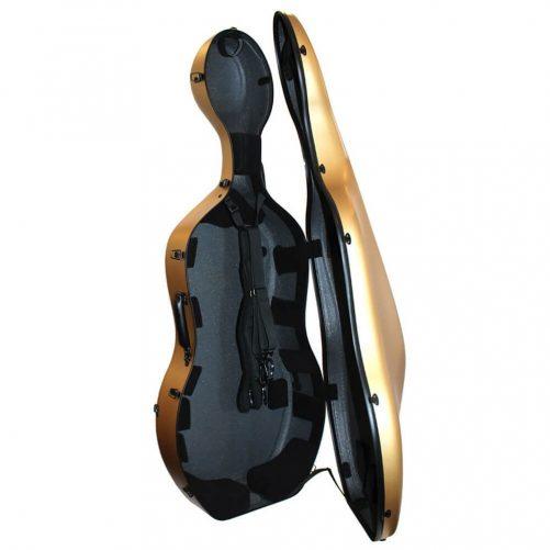 Orchestra Cello Case Matt Gold Inside