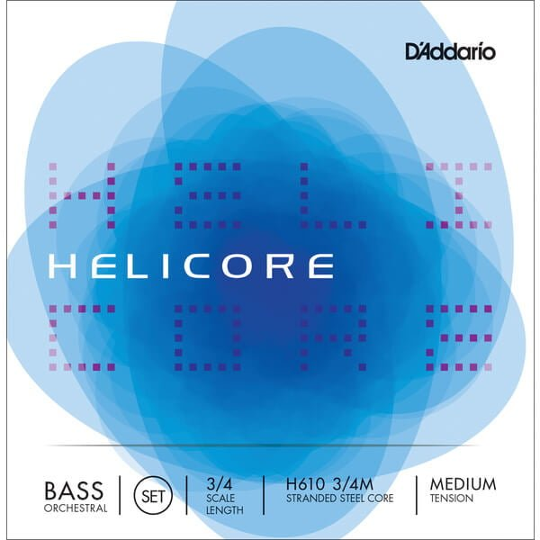 DAddario Helicore Orchestral Double Bass Strings