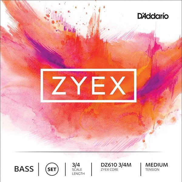 Zyex double bass strings