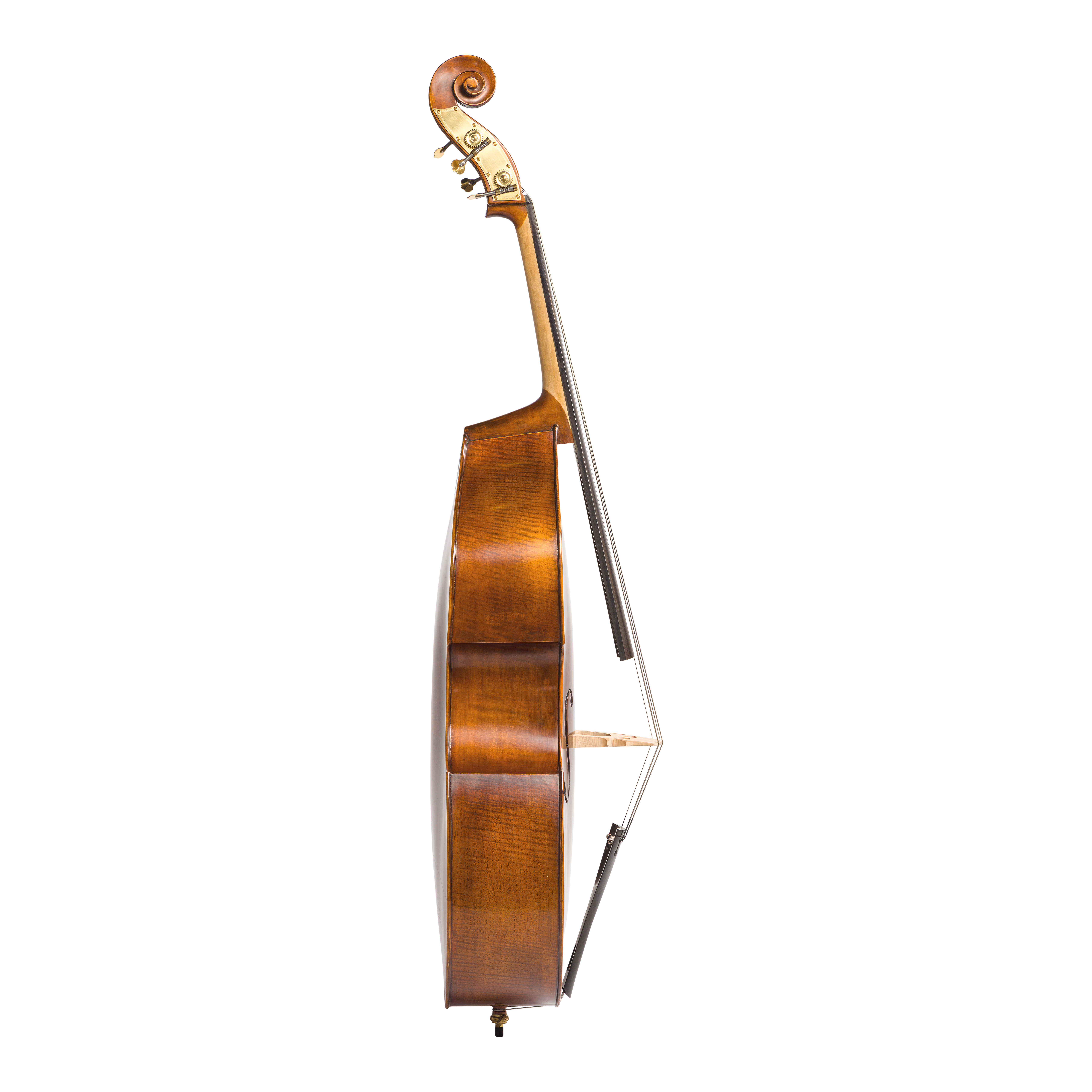 Eastman VB105 Double Bass Side View