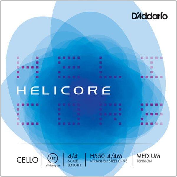 D'Addario Helicore 4ths Cello Strings