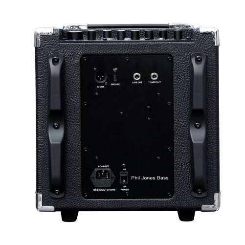 Phil Jones Bass BG 150 Flightcase Back