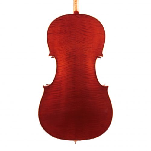 The back view of a Jay Haide Plain Cello